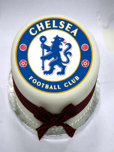 Chelsea Edible Cake Topper
